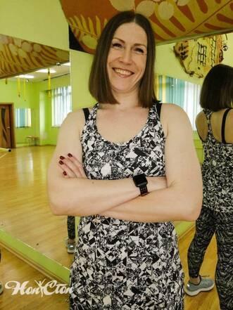 Елена Федотова - тренер по фитнесу витебского клуба Нон-стоп