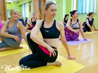 Тренировка с инструктором Надеждой бондаревой в фитнес центре Нон-стоп на Московском проспекте в Витебске