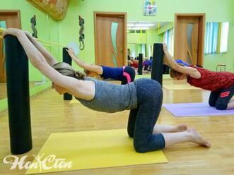 Занятия по программе Здоровая спина в витебском фитнес зале Нон-стоп на Московском проспекте