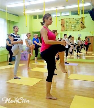 Фирменная тренировка по пилатесу в фитнес зале Нон-стоп в Витебске