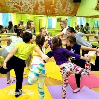Фото детей занимающихся детским фитнесом в Витебске