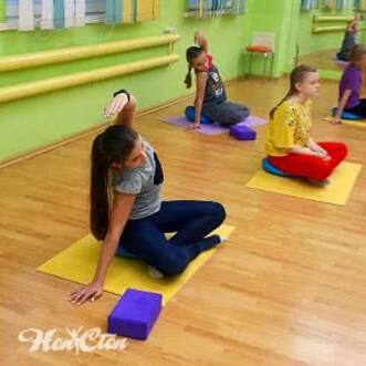 Фото детей занимающихся детским фитнесом