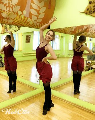 Пуховая Алена - хореограф по танцам витебского фитнес клуба Нон-стоп