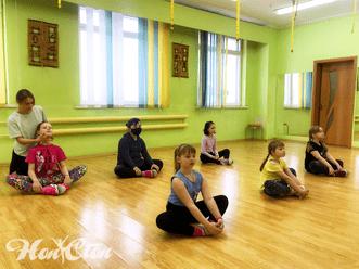Детская группа по танцам в витебском фитнес клубе Нон-стоп