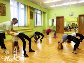 Детская группа зумбы в фитнес клубе Нон-стоп в Витебске