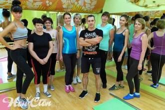 Клиентки группы Сергея Рачицкого в клубе Нон-стоп в Витебске имеют самые разные физические способности