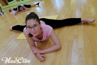 Стретчинг в витебском фитнес клубе Нон-стоп