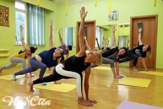 Оздоровительная йога в фитнес клубе Нон-стоп, Витебск