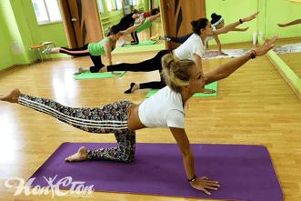 Пилатес для похудения с лучшими инструкторами в фитнес клубе Нон-стоп в Витебске