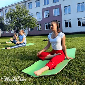 Тренировка с Лебедевой Екатериной - тренером фитнес клуба Нон-стоп в Витебске