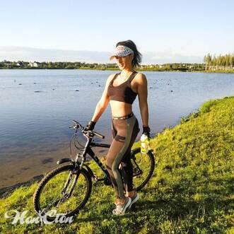 Тренер по фитнесу Ольга Семова увлекается велосипедным спортом и преподает в витебском фитнес клубе Нон-стоп