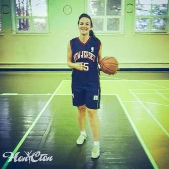 Тренер по фитнесу Ольга Семова увлекается баскетболом и преподает в фитнес клубе Нон-стоп в Витебске