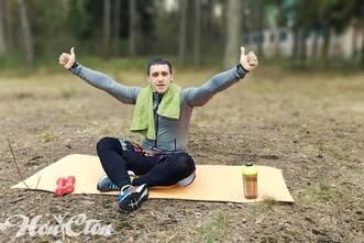 Инструктор витебского фитнес клуба Нон-стоп любит заниматься на свежем воздухе