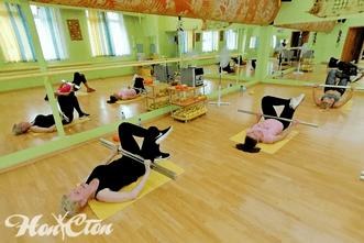 Тренер по программе Силуэт фитнес клуба Нон-стоп в Витебске - Екатерина Лебедева