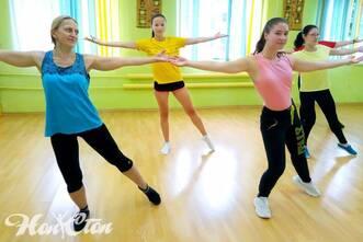 Тренер по зумбе клуба Нон-стоп в Витебске - Екатерина Лебедева