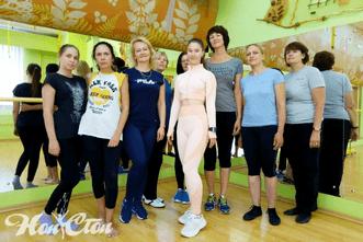 Клиенты Екатерины Лебедевой - тренера клуба Нон-стоп в Витебске