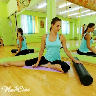 Занятия пилатесом в витебском фитнес клубе Нон-стоп позволяют избавиться от болей в спине