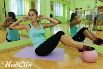 Анастасия Маркова - тренер по пилатесу для похудения в витебском фитнес клубе Нон-стоп