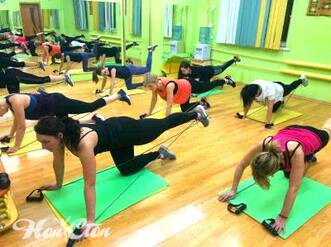 """Программа тренировок """"Супер 8"""" в фитнес клубе Нон-стоп в Витебске использует табату"""