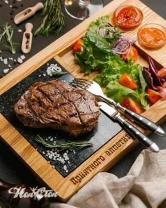 Фото юлюда состоящего из мяса и овощей