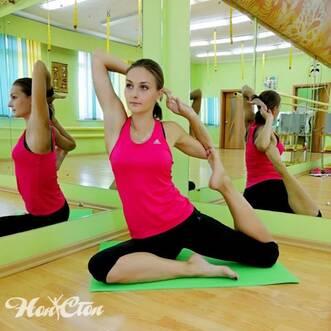 Тренер по йоге клуба Нон-стоп в Витебске Анастасия Маркова