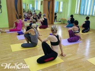 Фото отзыв на группу йоги с инструктором Надеждой Бондаревой