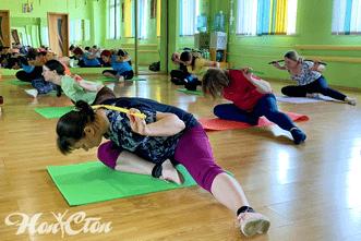 ЛФК для спины и позвоночника в витебском фитнес клубе Нон-стоп