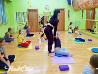 Детский фитнес с инструктором в Витебске в клубе Нон-стоп
