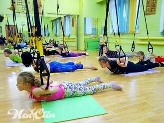 Детский фитнес с петлями в Витебске в клубе Нон-стоп