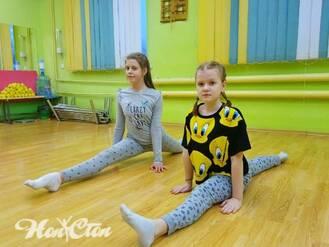 Занятие детского фитнеса в Витебске в клубе Нон-стоп