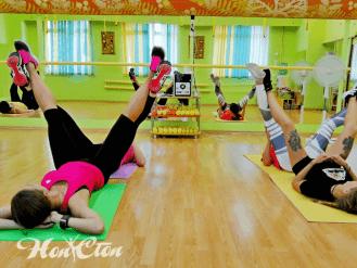 Парная тренировка с Настей Марковой - инструктором по фитнесу клуба Нон-стоп, Витебск