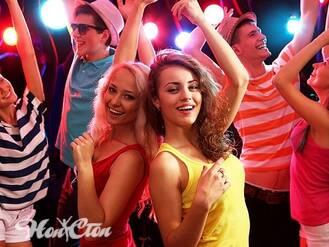 Обучение танцам под современную музыку в витебском фитнес клубе Нон-стоп