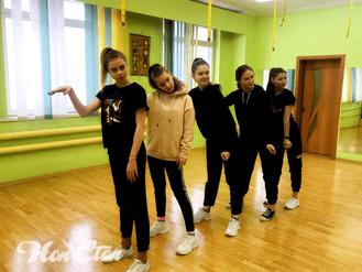 Хореограф по танцам фитнес клуба Нон-стоп в Витебске Алена Пуховая