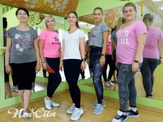 Клиенты фитнес клуба Нон-стоп в Витебске