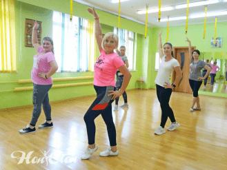 Зумба в фитнес клубе Нон-стоп в Витебске с Екатериной Лебедевой