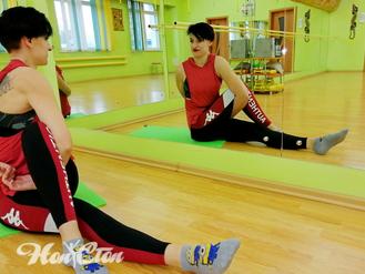 Елена Славецкая - тренер по фитнесу и пилатесу фитнес клуба Нон-стоп в Витебске