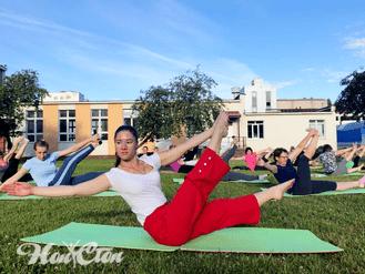 Тренировка по Здоровой спине в Витебске в клубе Нон-стоп