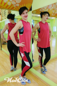 Славецкая Елена - тренер по фитнесу и пилатесу в Витебском фитнес клубе Нон-стоп